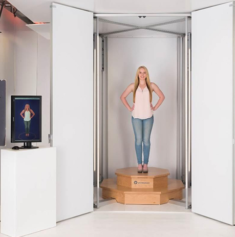 Human Solutions of North America 3D Body Scanner